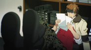 Ep 3 Usagi at his desk