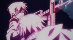 Ep 2 Tachibana blocks a gun