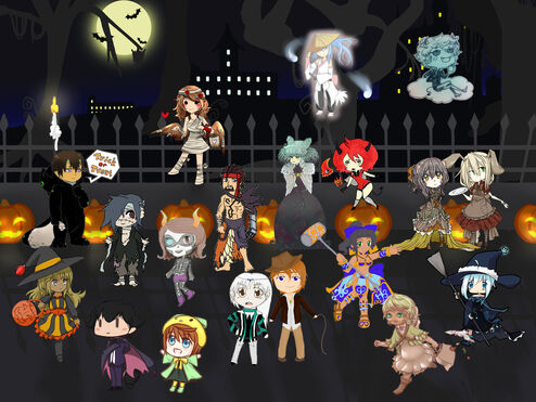 Aoh trick or treat collab by takaya chan-d5jlxw9