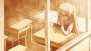 Mashiro alone