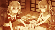 Saki and Irina