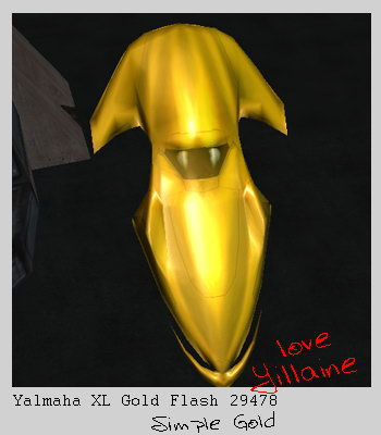 Photoyillaine yalmaha 29478 goldflash
