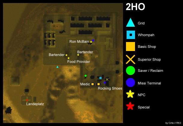 2HO map