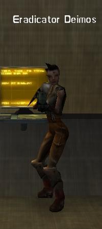 Cyborg barracks unique eradicator deimos