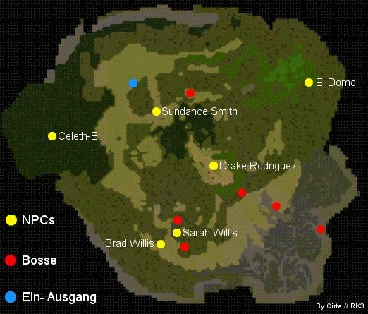 Jobe trainingscenter map