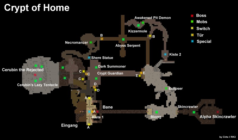Crypt of Home map