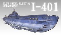 Submarine I-401