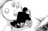 An Unsure Yukio Hugging Shiemi
