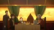 Ernst talking with Yukio