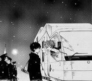 Shura telling Rin about Yukio's eyes