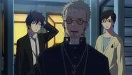 Father, Rin and Yukio