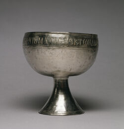 Byzantine - Silver Chalice - Walters 57633 - Profile