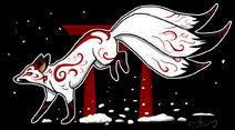 Kitsune by silvercrossfox-d5b5bdf
