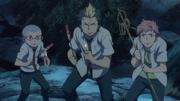 Los exwire ayudan a Rin