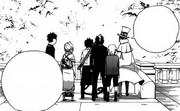 Konekomaru y los demás tras lo de Lucifer