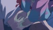 Shiemi curando a Rin