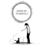Kuro llorando por la muerte de Shiro