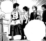Rin le dice a Samael que traerá a Shima e Izumo