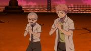 Shima y Konekomaru recitan