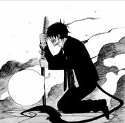 Rin tras la muerte de Shiro manga
