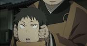Ryuji con su padre