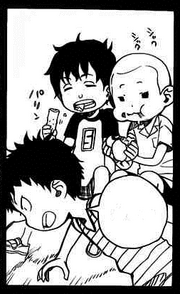 Shima, Konekomaru y Bon