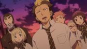 Tsubaki y los demás observan a Rin
