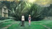 Shiemi y Rin ante la marcha de Igor