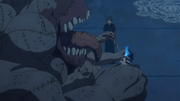 Igor atacando a Rin