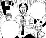 Bon detiene la pelea entre los Shima y los Hojo