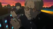 Rin y Shiro escapando