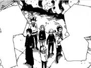 El grupo escapa