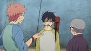 Shima y Konekomaru le cuentan el pasado de Bon a Rin