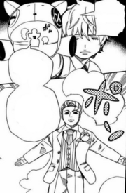 Takara invoca una marioneta