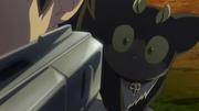 Kuro es amenazado por Yukio