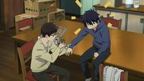 Yukio cuidando a Rin