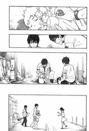 Yukio cura a Satoru