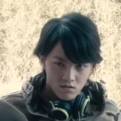 Takeshi in the live action movie.