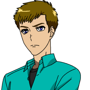 Liam as an Anime Character