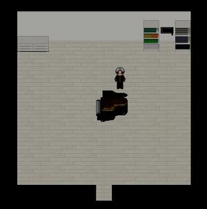 Piano room in version 6