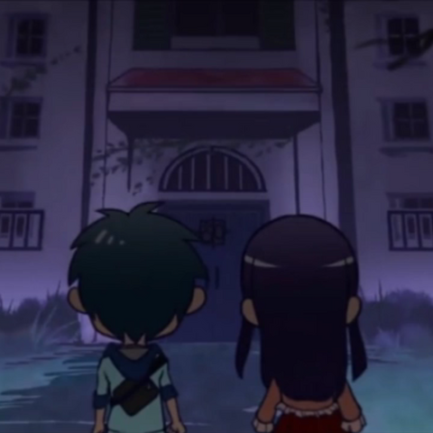 Anna's cameo near the end of episode 13 of the <a href=