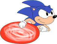 Sonic running by sonicandbrandyfan-d58rnl6