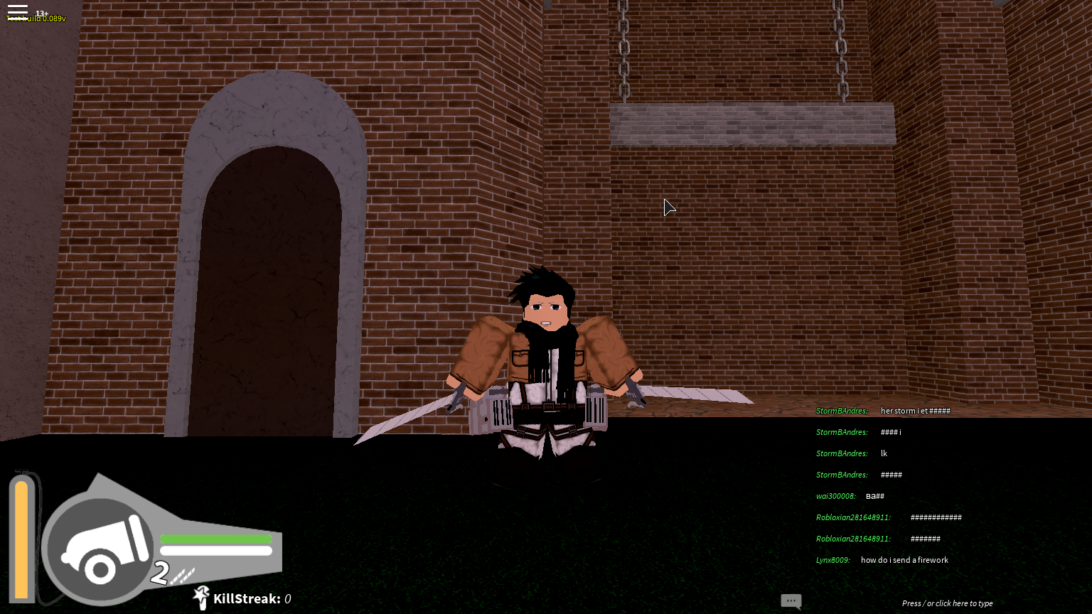 How To Get Gear In Atack On Titan Roblox Game How To Get Free