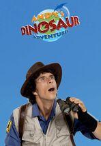 Andy'sDinosaurAdventuresBluePoster