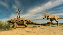 APA-TarbosaurusAttacksAnkylosaur