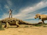 Ankylosaur and Club