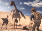 Gigantoraptor and Feather