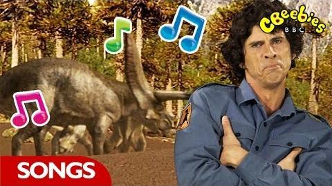 Triceratops Rap From Andy's Dinosaur Adventures - CBeebies