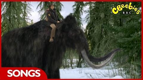 CBeebies Andy's Prehistoric Adventures Woolly Mammoth Rap