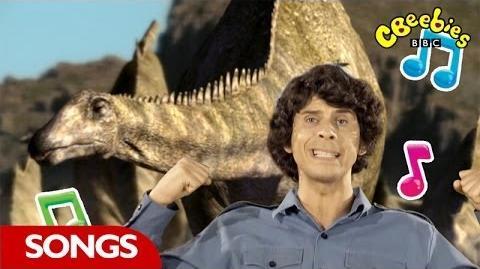 Diplodocus Rap From Andy's Dinosaur Adventures - CBeebies